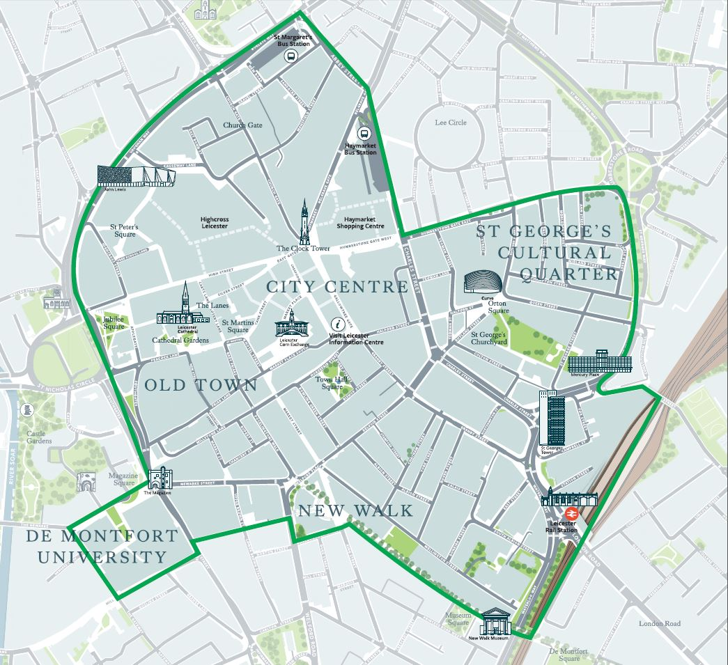 Leicester City Uk Map.Bid Leicester Bid Leicester