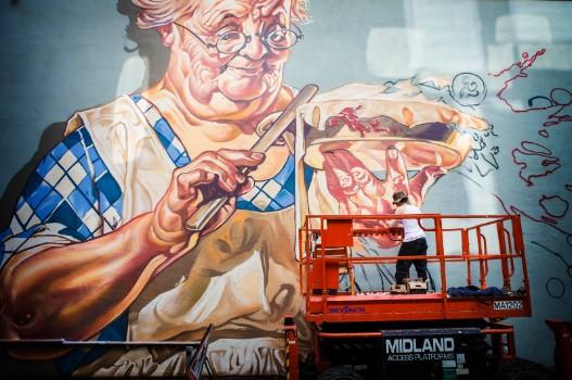 Bring The Paint international Street Art Festival
