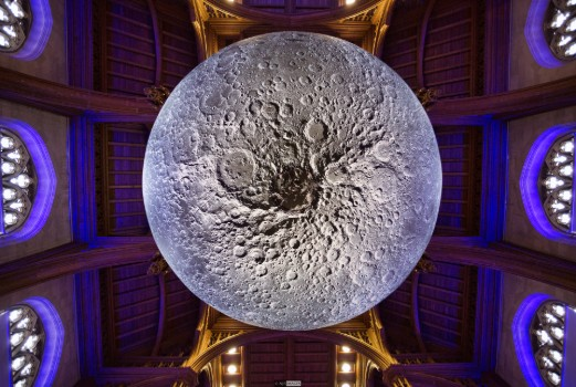 Luke Jerram's Museum of the Moon, photo by Neil James