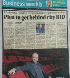 BID Press from Leicester Mercury