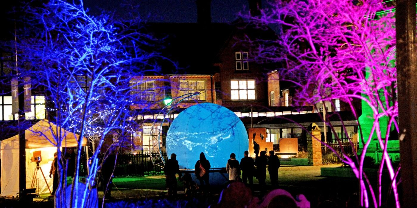 Christmas in the Gardens, presented by BID Leicester in December 2018