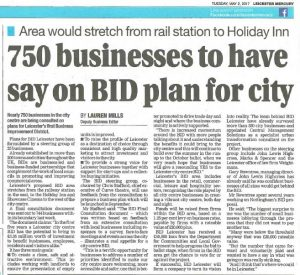BID Leicester in the Press