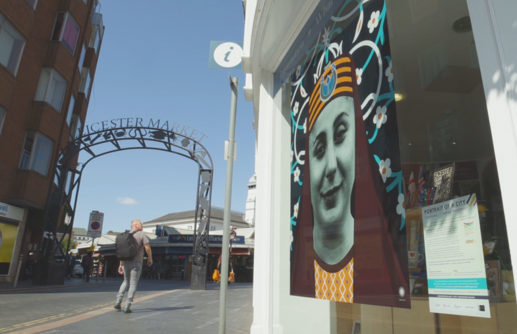 Portraits of Leicester Community to decorate the City