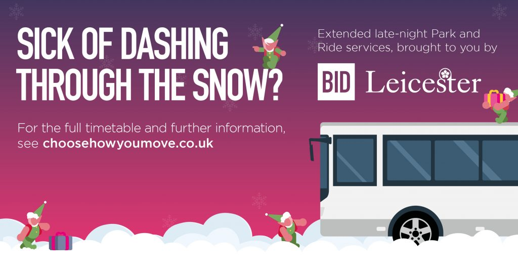 Late night Park & Ride services to return for busy Christmas shopping period